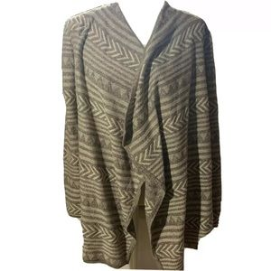 Lucky Brand Open front sweater cardigan sz Small